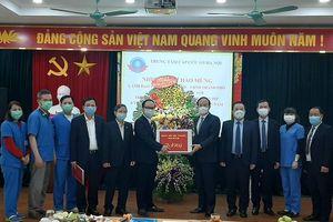 Phó Bí thư Thành ủy Nguyễn Ngọc Tuấn: Tạo điều kiện cơ sở vật chất nhằm phục vụ tốt yêu cầu cấp cứu của người dân