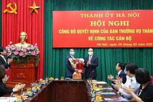 Ông Lê Minh Đức được điều động, phân công làm Bí thư Đảng ủy Khối các cơ quan TP Hà Nội