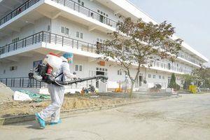 Bệnh viện Dã chiến số 3 tại TP Chí Linh đón bệnh nhân đầu tiên
