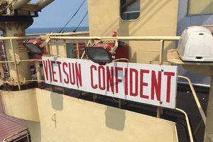 Tàu hàng hơn 7.600 tấn đâm chìm tàu cá trên vùng biển Bình Thuận
