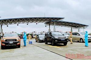 Hải Phòng tạm dừng nhiều chốt kiểm soát dịch Covid-19 trên các tuyến quốc lộ