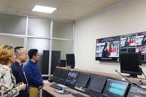 Cơ sở đào tạo được quyết định tổ chức bảo vệ tốt nghiệp trực tuyến