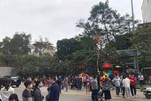 Chung cư Mipec Long Biên cháy do chập điện, người dân tháo chạy
