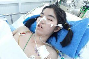 Cần gấp 100 triệu đồng cứu nữ sinh lớp 10 bị suy tim nguy kịch