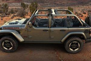 Xe địa hình Jeep Wrangler có thêm tùy chọn Half-Doors