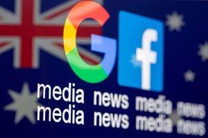Facebook, Google phải trả tiền vì luật mới của Australia