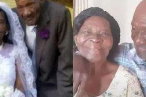 Sau 10 năm cưa cẩm, 'phi công' 73 tuổi kết hôn với cụ bà 91 tuổi