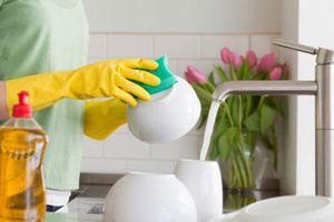 Dùng nước rửa bát kiểu này là bạn đang tự hại chính gia đình mình một cách nghiêm trọng
