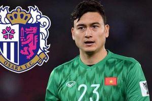 Thông tin sốc về số áo của Văn Lâm ở đội bóng Nhật Bản