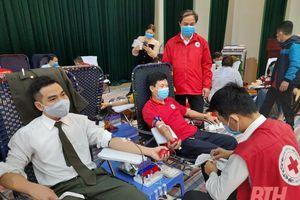 Như Xuân: Hơn 600 tình nguyện viên tham gia hiến máu nhân đạo