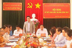 Khánh Hòa: Đổi mới nội dung, phương thức thi đua trong các cơ quan tham mưu