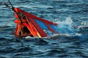 Một tàu cá Khánh Hòa bị chìm trên biển Bình Thuận