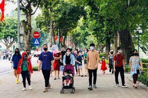Quận Hoàn Kiếm đề nghị mở lại hoạt động phố đi bộ Hồ Gươm từ 2/3