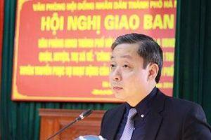 Ông Trần Hợp Dũng phụ trách Văn phòng Đoàn ĐBQH, HĐND TP Hà Nội