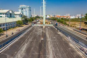 Cầu Mỹ Thủy 3 ở TP Thủ Đức trước ngày hoàn thành
