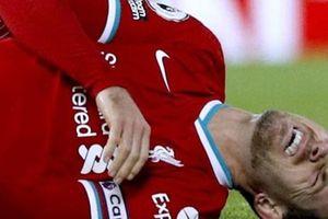 Liverpool tiếp tục 'méo mặt' vì chấn thương