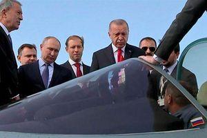 Thổ Nhĩ Kỳ đã bắt đầu đàm phán mua Su-35 và Su-57 của Nga