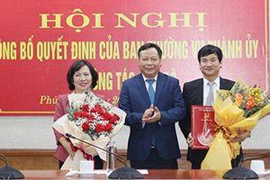 Bà Lê Thị Thu Hằng làm Bí thư Quận ủy Tây Hồ