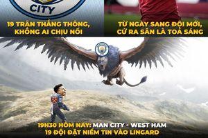 Biếm họa 24h: Lingard sẽ giúp MU 'ngáng đường' Man City?