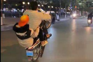 Xử lý loạt thanh thiếu niên đua xe, 'làm xiếc' trên đường phố Hải Phòng