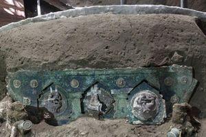 Phát hiện cỗ xe rước lễ thời La Mã cổ đại