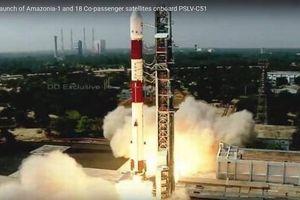 Ấn Độ phóng tên lửa chở 19 vệ tinh vào quỹ đạo