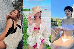 Sao Việt trong cuộc đua bikini nóng bỏng: Ai cũng tự tin khoe ngực đầy eo thon