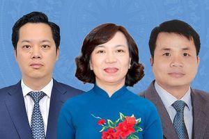 Chân dung các tân Bí thư quận, huyện, Đảng ủy Khối cơ quan TP Hà Nội