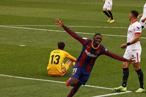 Messi 'nổ súng', Barca tạm chiếm ngôi nhì La Liga