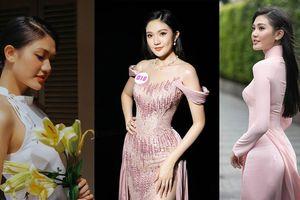 Nhan sắc kiều diễm của Hoa khôi Đại học Hoa sen từng thi Hoa hậu Việt Nam 2020