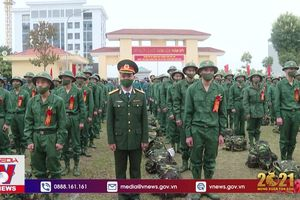 Hơn 2000 tân binh lên đường nhập ngũ tại Phú Thọ