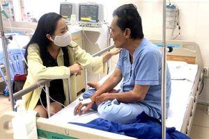 Nghệ sĩ Thương Tín dần hồi phục sau đột quỵ