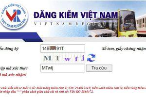 Hướng dẫn cách tra cứu thông tin biển số ô tô qua mạng