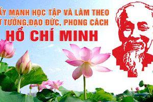 Đưa việc học tập và làm theo tư tưởng, đạo đức, phong cách Hồ Chí Minh vào chương trình hành động