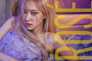 Nửa đêm YG tung poster thông báo ngày Rosé chính thức solo, netizen kêu 'vẹo cả cổ'
