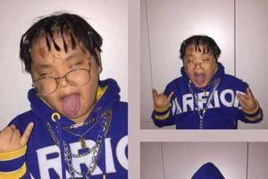 Bi Béo - con trai danh hài Xuân Bắc 'cosplay' rapper Lil Pump khiến dân mạng cười ngất