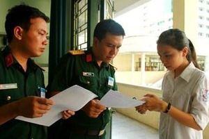 Đăng ký sơ tuyển vào trường ĐH, CĐ hệ quân sự từ ngày 1/3