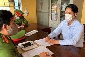 Bắt nguyên giám đốc chi nhánh văn phòng đăng ký đất đai TP Huế