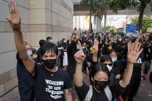 Biểu tình lớn nhất ở Hong Kong sau nhiều tháng
