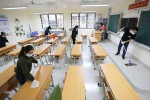 Các trường học quận Hoàng Mai sẵn sàng đón học sinh trở lại
