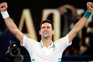 Bảng xếp hạng ATP tennis: Djokovic san bằng siêu kỷ lục 310 tuần giữ số 1 của Federer