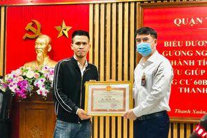Anh Nguyễn Ngọc Mạnh cứu bé gái rơi từ tầng 13: 'Làm thì dễ, nói thì khó'