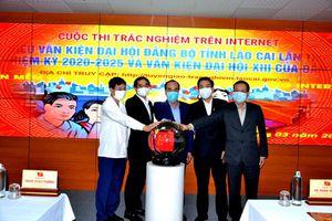 Lào Cai khai trương phần mềm thi trắc nghiệm về Nghị quyết Đại hội Đảng