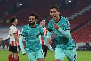 Liverpool lập cột mốc ấn tượng tại giải bóng đá Anh