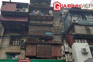 Hiểm họa từ những chung cư cũ ở Hà Nội