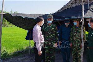 Tây Ninh quyết liệt phòng, chống dịch COVID-19 trên tuyến biên giới