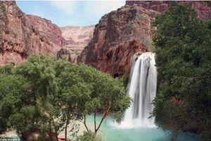 Thác nước đẹp như tranh vẽ ở hẻm núi vĩ đại nhất hành tinh