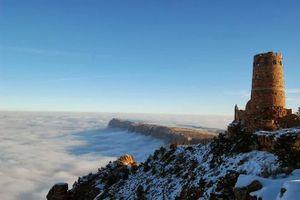 'Cõi bồng lai' xuất hiện trong hẻm núi khổng lồ