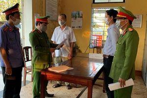 Bắt tạm giam nguyên Giám đốc văn phòng đăng ký đất TP Huế