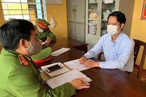 Khởi tố nguyên Giám đốc Chi nhánh Văn phòng đăng ký đất đai TP Huế
